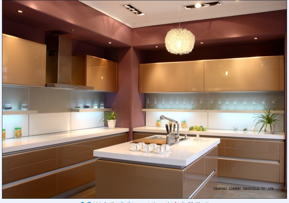 popular orange kitchen cabinets-buy cheap orange kitchen cabinets