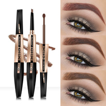 Kiss Beauty 2In1 Waterproof Eyebrow Dyeing Eyebrow Pencil Eyebrow Penc