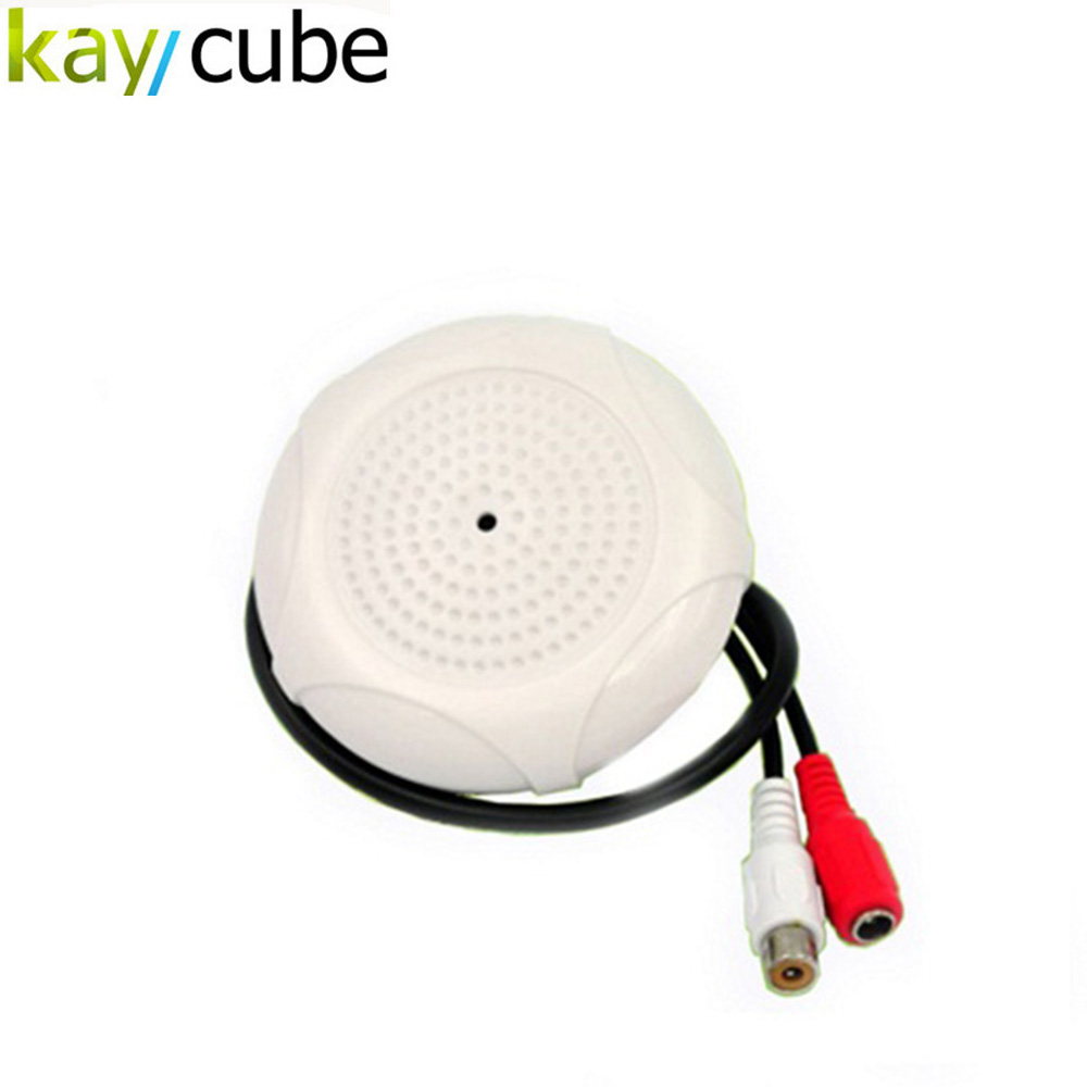 CCTV Security Camera DVR Microphone Wide Range High Sensitivity Audio MIC Sound Pickup Low Noise Clear Natural Voice AGC Circuit статуэтки elff ceramics статуэтка кошка