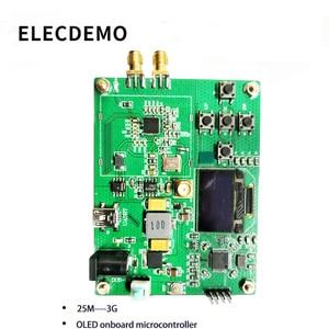 Image 2 - وحدة PLL حلقية مغلقة المرحلة HMC830 25 م 3G مع OLED على متن الطائرة متحكم RF إشارة المصدر المنفذ التسلسلي