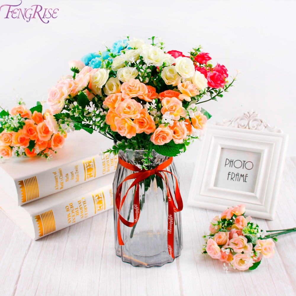 Image 5 - FENGRISE 20cm DIY Paper Flowers Backdrop Decorative Artificial Flowers Wedding Favors Birthday Party Home Decoration-in Artificial & Dried Flowers from Home & Garden