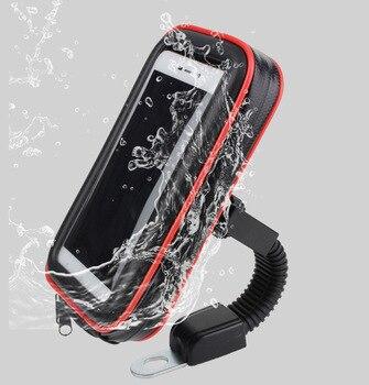 Bicycle Motorcycle Touch Screen Bag Case Phone Holder For Huawei Mate 9 10 20 Pro Y5 Lite Y3 Y9 Y8 Y7 Y6 Pro Prime (2018) Nova 5