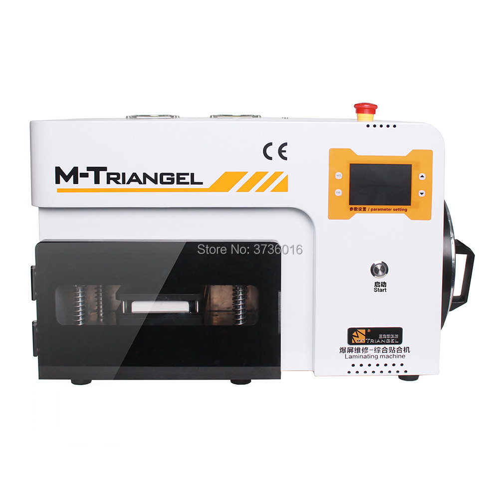 M-T 9 inchs vacuum automatic laminating machine for mobile phone LCD screen glass oca polarizer film laminating bubble removingM-T 9 inchs vacuum automatic laminating machine for mobile phone LCD screen glass oca polarizer film laminating bubble removing