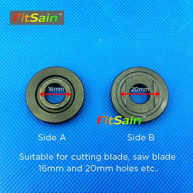 FitSain - Disco da taglio per taglierina circolare per legno da 4 - Lama per sega - Fotografia 5