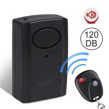 Универсальная противоугонная система безопасности для мотоцикла, мотоцикла, скутера, 120 дБ, включает батарейный ключ, пульт дистанционного управления, сигнализация