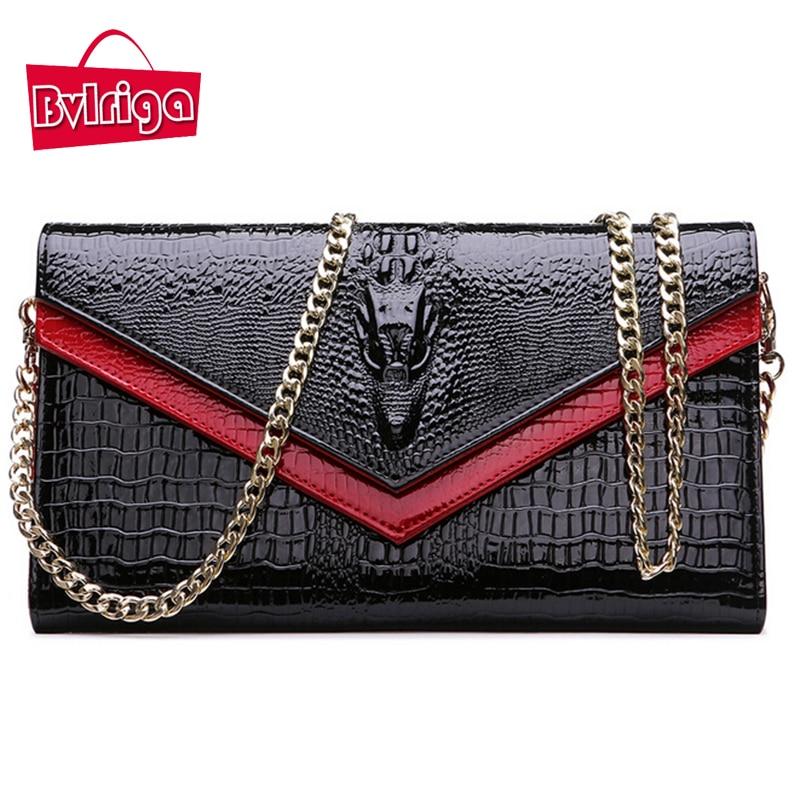 ФОТО BVLRIGA Shoulder bags women bag wallet women luxury brand evening clutch chain women messenger bags womens wallets and purses