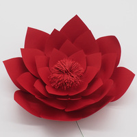 1 Piece 30CM Cardstock Giant Paper Flower For Wedding Backdrops Windows Display Kids' Room Decorations