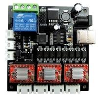 GRBL Laser controller board CNC USB 3 Axis Stepper Motor Driver for GRBL Controller Laser board CNC Mini engraving machine