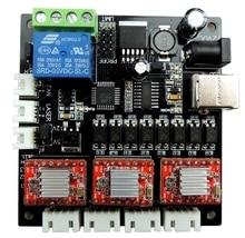 GRBL לייזר בקרת לוח, USB 3 ציר נהג לוח, עבור GRBL חריטת מכונת CNC מיני מכונת יכול עדכון כדי 1.1 גרסהcnc controller boardusb cnccnc 3 axis
