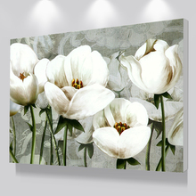 Classcial Canvas Painting For Living Room Flowers Wall Art Poster Prints Decoration Pictures From Custom Photo
