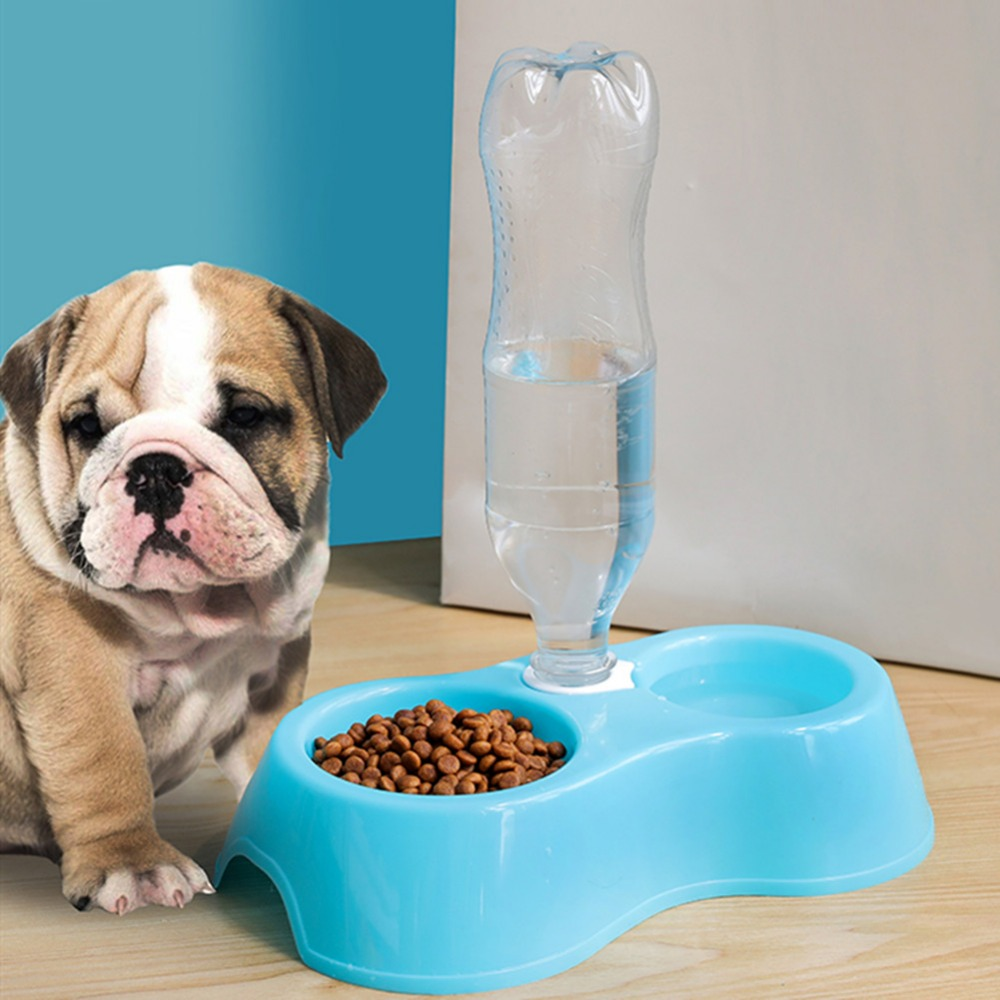 Automatic Pet Drinker Dog Bowls Water Bottles Liftable Bowl Dispenser Bowl For Puppy Universal Dog Drinker Feeder Pet Products