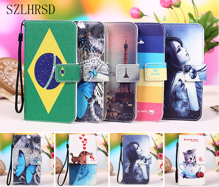 New Cartoon Painting Flip PU Leather Exclusive Cover case For Letv for LeEco Le Max 3 X850 (5.7 inch) +Tracking number