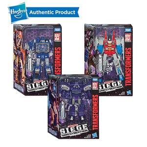 Image 5 - Hasbro Transformers Cybertron Voyager WFC S24 Decepticons Starscream Soundwave 모델 키즈 완구 액션 피규어