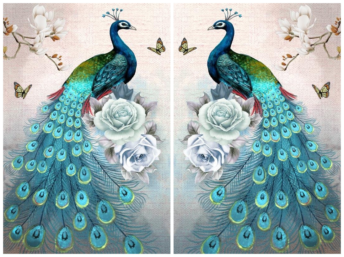 5d Diy Diamond Painting Peacock Diamond Mosaic Needlework Diamond Embroidery Pattern Home Decor