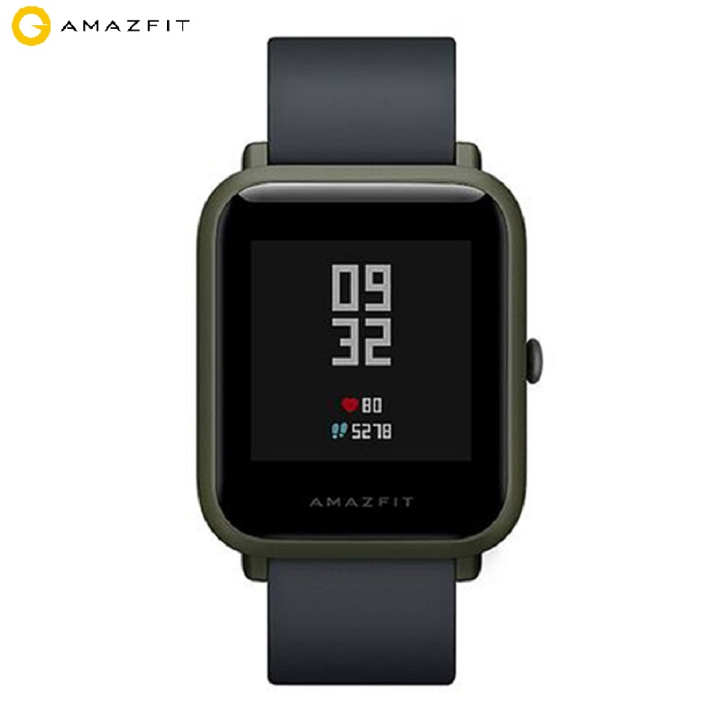 International Version Xiaomi Huami AMAZFIT Bip Smartwatch Corning Gorilla Glass Screen Heart Rate Monitor Geomagnetic Sensor GPS huami amazfit heart rate smartband