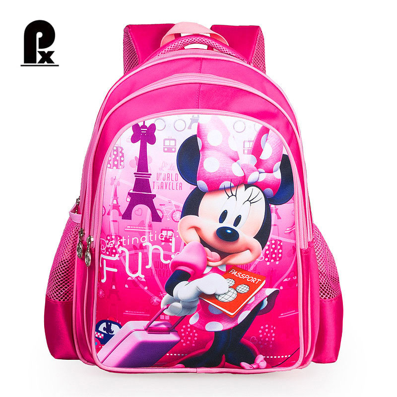2017 Primary School Orthopedic School Backpack for Girls Cartoon Backpack for Children Shoulder Schoolbag Mochila Infantil inclusion for primary school teachers