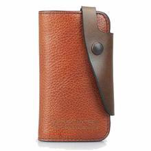 2017 neue Marke Echtes Leder Schlüsseletui Autoschlüssel Brieftasche Luxus Geschenk Für Männer Keeper Halter Schlüsseltasche Fall K17