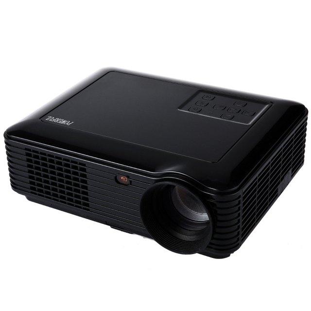 Potente SV-228 de Cine En Casa 4000 Lúmenes 1280*800 Píxeles 160 W Potencia Multimedia LCD Soporte Proyector Digital rojo-Azul 3D