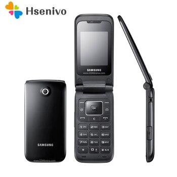 E2530 100% Original desbloqueado Samsung E2530 GSM 2G FM Bluetooth FM Radio teléfono móvil envío gratis