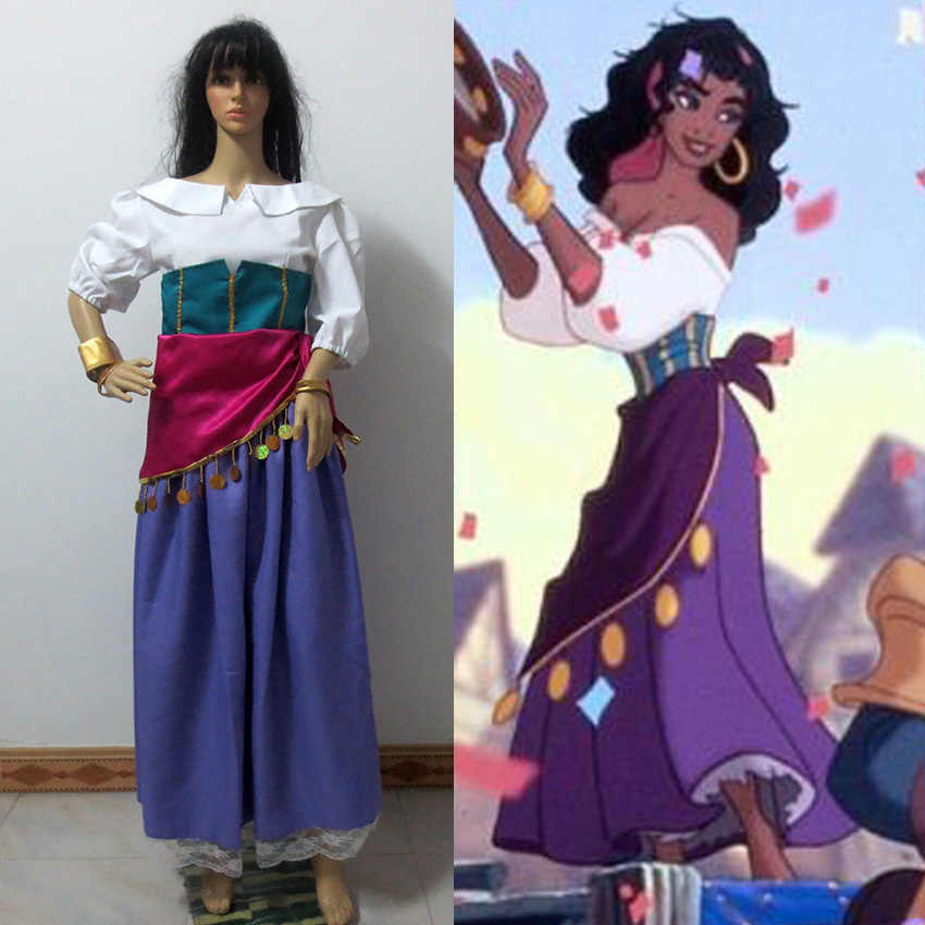 Costume Halloween Esmeralda.Detail Feedback Questions About The Hunchback Of Notre Dame