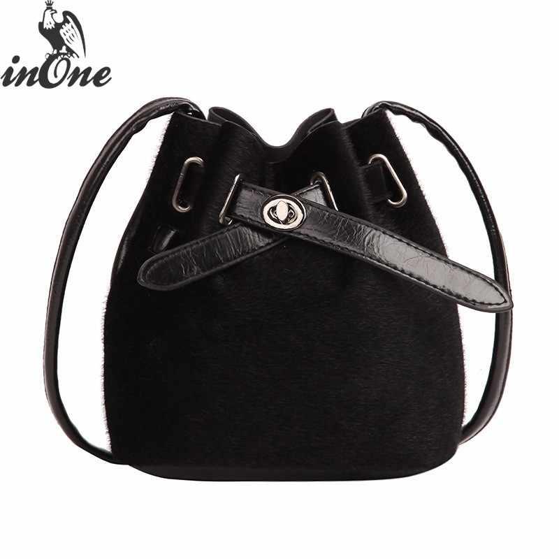 07d43b7dd9 ... INONE Vegan Leather Leopard Fur Crossbody Handbag Shoulder Bags for  Women 2019 Bolsa Feminina Laides Phone ...