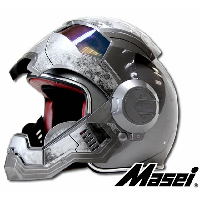 MASEI  Ironman Motorcycle Helmet motorcycle