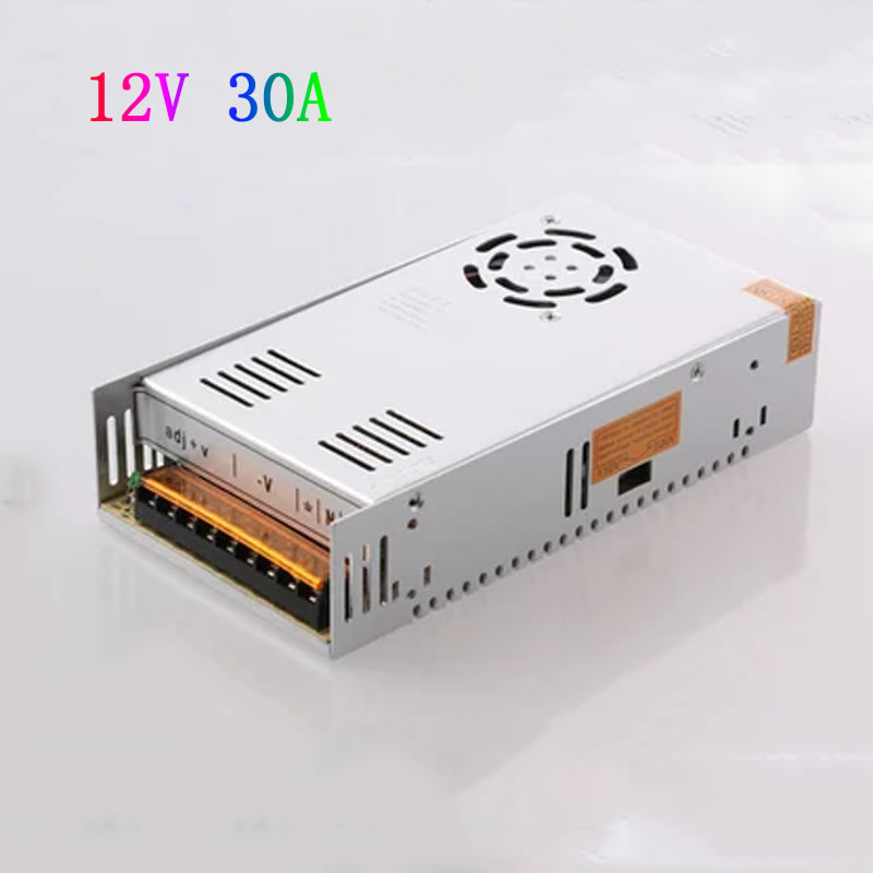 ФОТО 350W 12V 30A  Single Output Switching power supply Adater for LED Strip