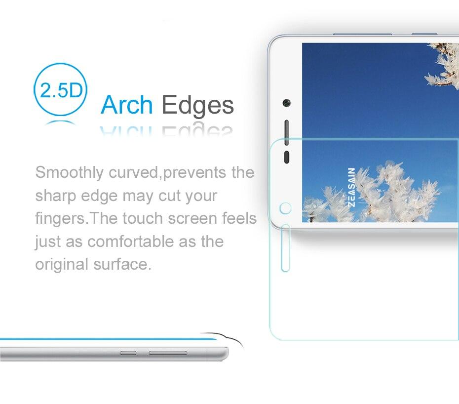 [2 Pack] Original ZEASAIN Premium Tempered Glass Screen Protector For - Բջջային հեռախոսի պարագաներ և պահեստամասեր - Լուսանկար 4