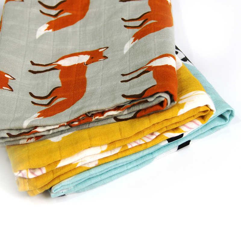 Детские одеяла для новорожденных, супер мягкие банные пеленки для детей, муслин, органический хлопок, ткань для девочек и мальчиков, слюнявчик, полотенце, ежемесячная упаковка