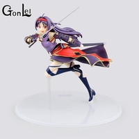 GonLeI Halloween Toy Gift Sword Art Online Action Figure Collection 18cm OSS Mother's Rosario Konno Yuuki Model Doll Decorations