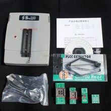 VS4800 USB Универсальный Программатор для Bios EPROM ФЛЭШ GAL 51 AVR PIC MCU SPI с 48pin ZIF гнездо, поддержка 15000 + IC, 4 адаптеры