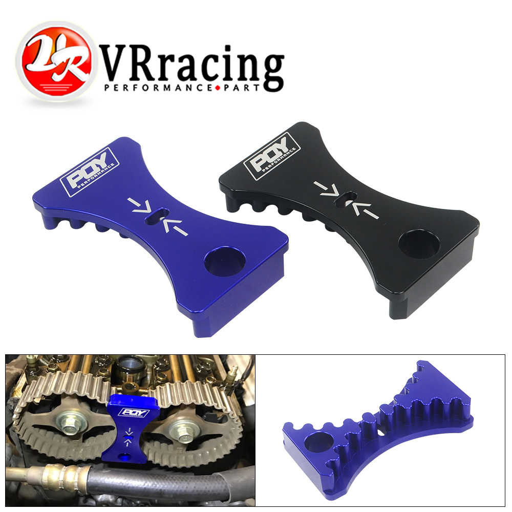 VR - For 94-00 Honda Acura B16 B18C1 B18C5 VTEC 1.6L&1.8L Engine Aluminum Cam Gear Lock Timing Belt Installation Tool VR-CGL01