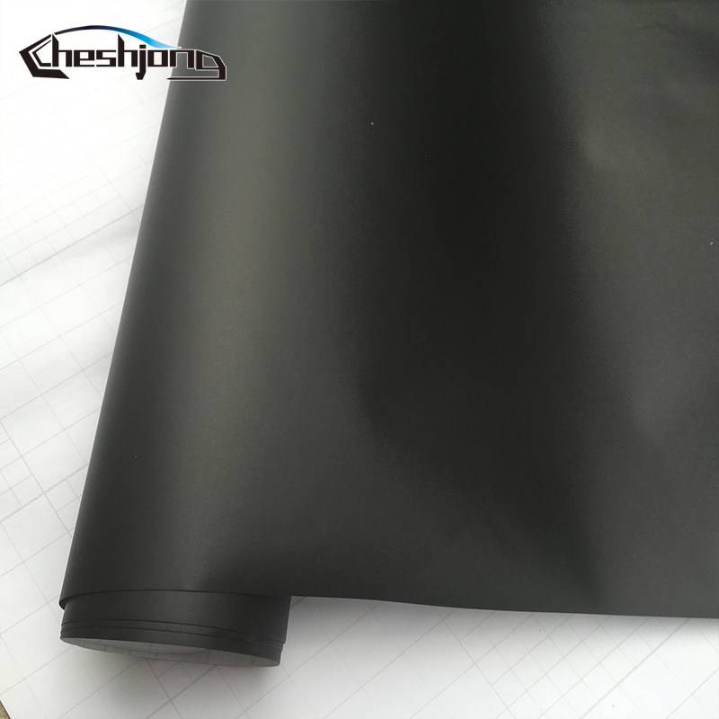cheapest 30 40 50 58cm 152cmBlack  Matte  Vinyl Car Wrap Film  Black Matte Film Car Sticker Motorcycle Scooter DIY Styling Sticker