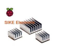 3pcs + Adhesive Raspberry Pi Heatsink Cooler Pure Aluminum Heat Sink Set Kit Radiator For Cooling Raspberry Pi 2 B Free shipping