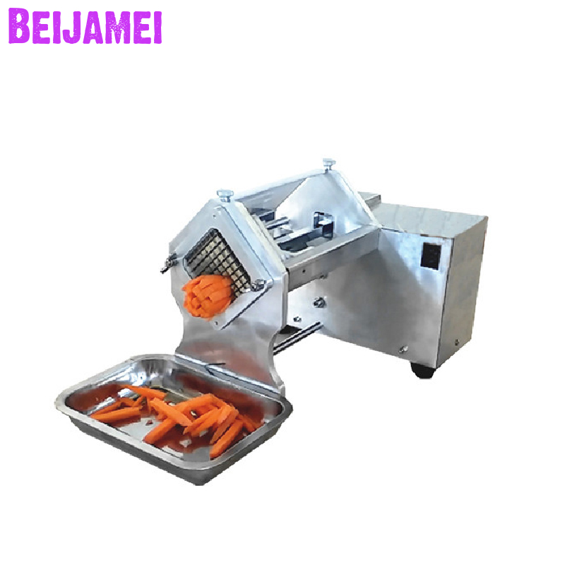 Beijamei Wholesale Commercial Potato Chips Making Machine Electric Fresh Sweet Potato Cutter Slicer Machine For Sale