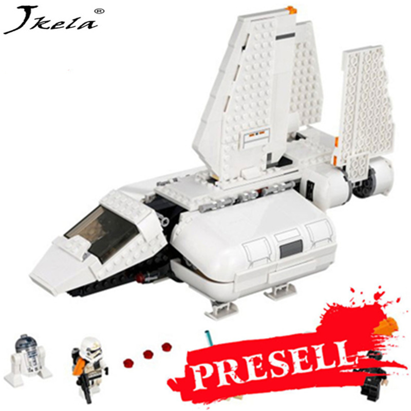 [Hot] 2018 new Starwars imperial landing craft model 712 pcs building blocks toys consistent legoingly Starwars christmas gift [jkela]499pcs new star wars at dp building blocks toys gift rebels animated tv series compatible with legoingly starwars