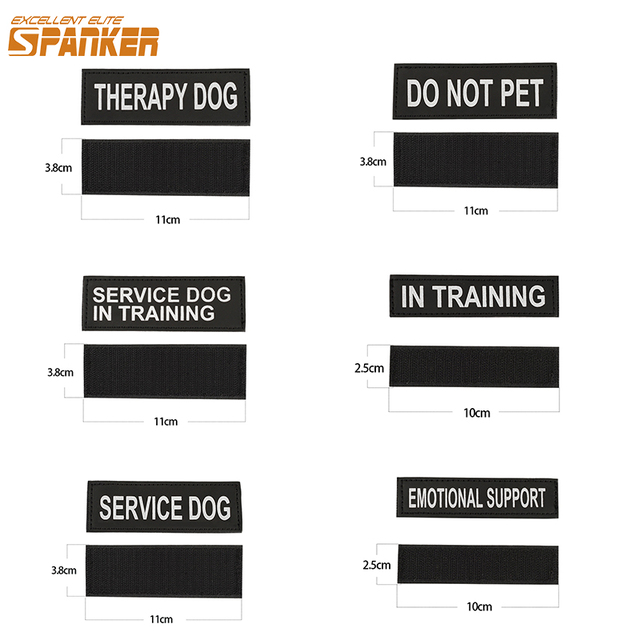 SPANKER Accessory Identity Patches