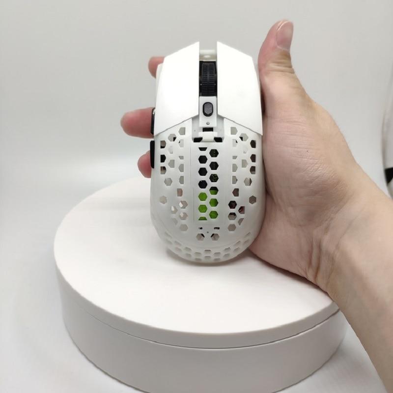 LightWeight DIY Mouse Gaming Shell MOD Case For FPS Gamer WMO Microsoft Wheel Logitech G304 G305 E-Sport 67g Hollow Out Wireless