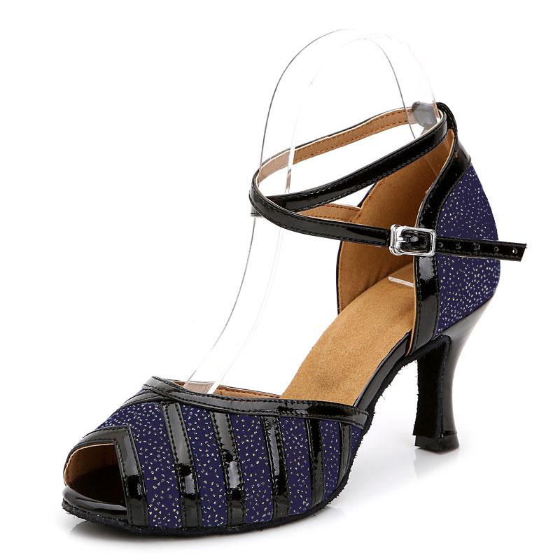 Talons Hauts,Chaussures Cuir Femme Danse De Salon Chaussures de danse Latine Femme