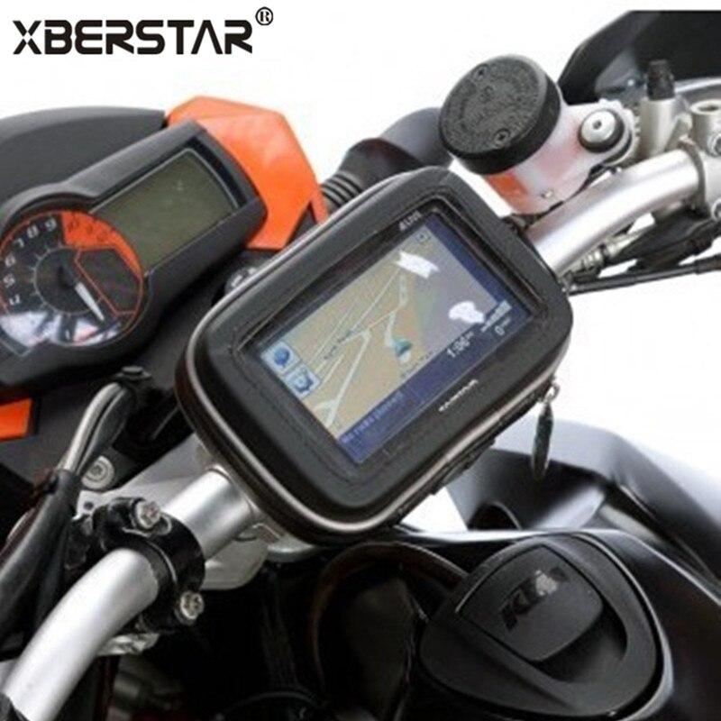 Цена за НОВЫЙ Велосипед Гора + Водонепроницаемый Чехол Для 5 Дюймов TomTom One Garmin nuvi 200 1300 GPS Случаи Обложка Сумка Рукавом