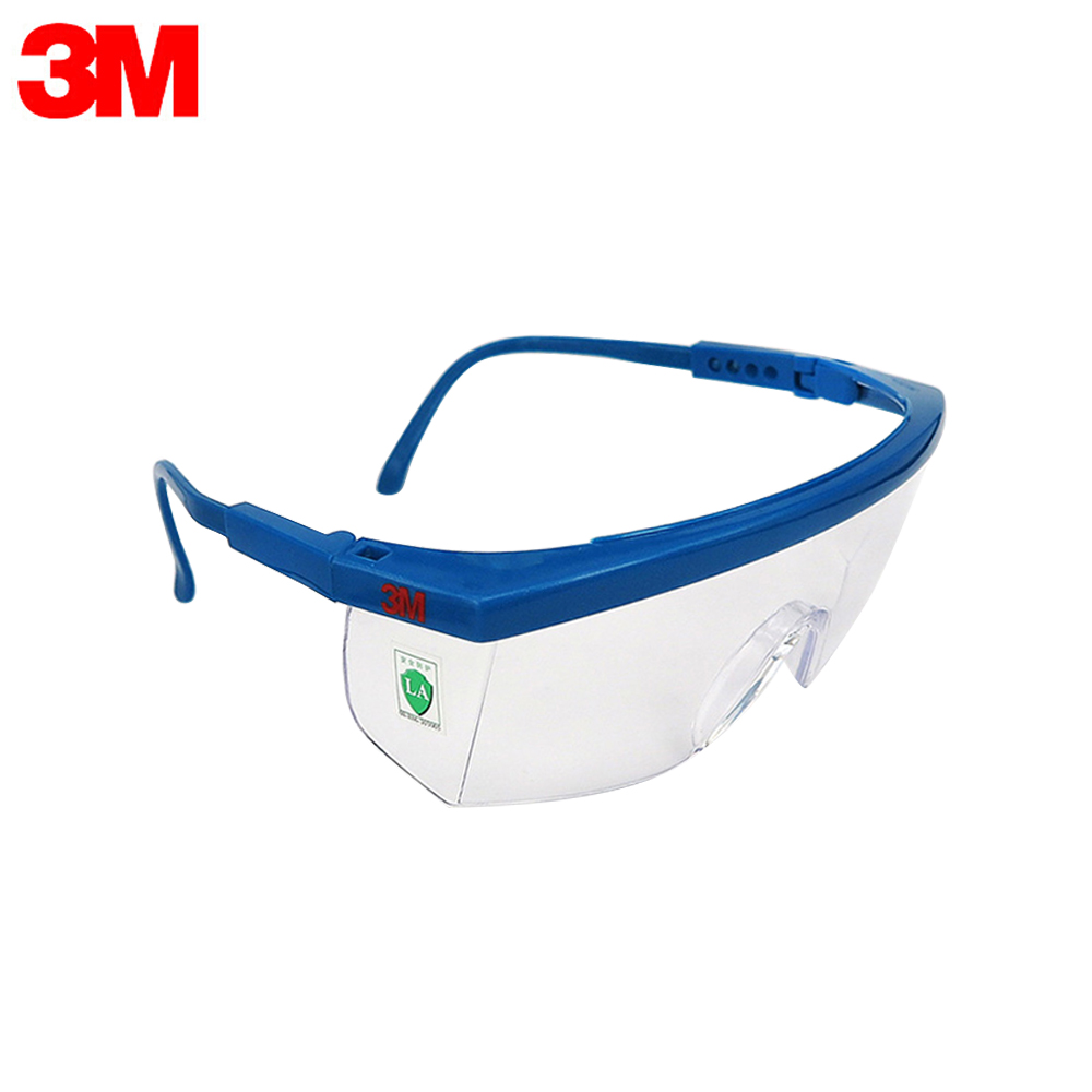 3M 1711AF Safety Glasses Anti-fog Dust Impact Resistant Goggles UV Eye Protection Transparent Outdoor Sports Eyewear Protective(China)