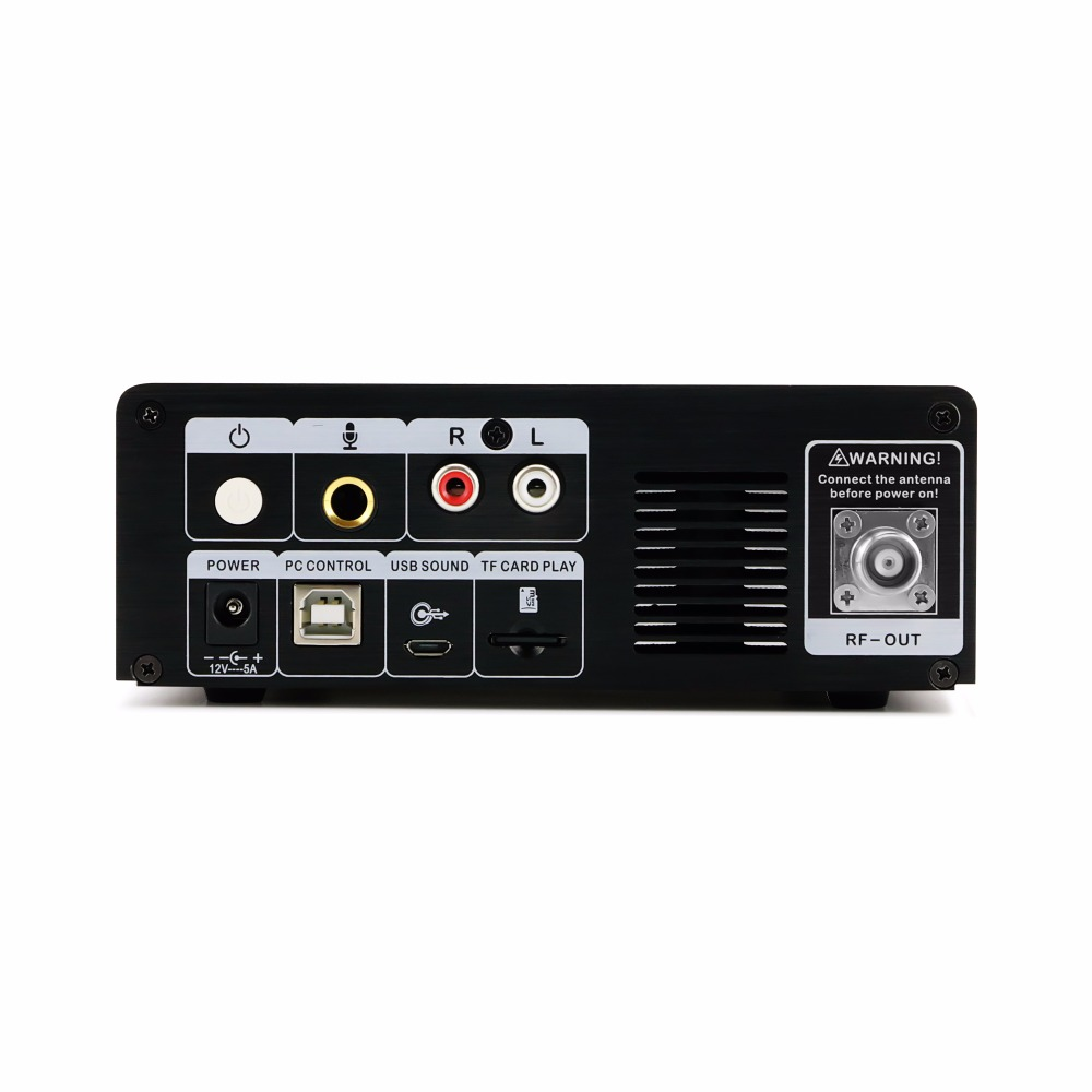 0-25 W réglable RF sortie puissance FM Radio Tuner Module hôte 87-108 MHz