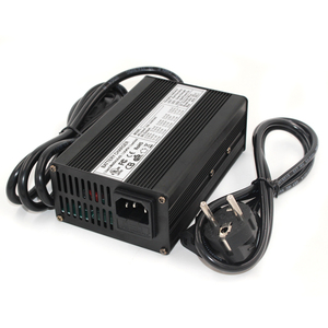 Image 1 - 43.8V 4A  Charger 12S 36V 38.4V Lifepo4 battery  Charger Output DC 43.8V With cooling fan Free Shipping