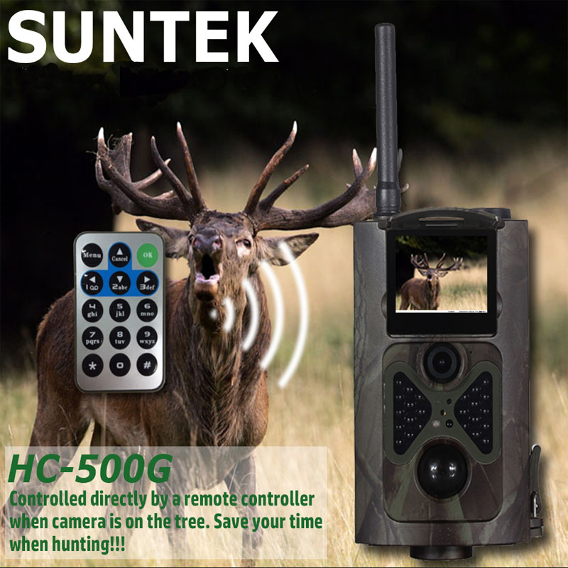 HC500G Hunting Trail Camera MMS GPRS 3G GSM MMS SMTP/SMS 12MP 1080P Game Wildlife Cameras серверная платформа supermicro sys 5018a ftn4 sys 5018a ftn4