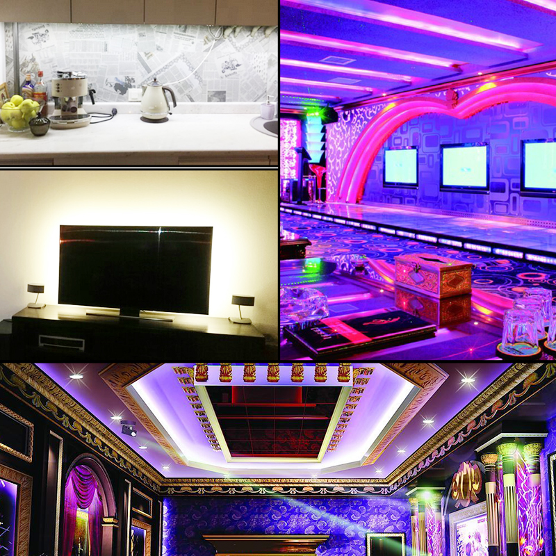 1 metro WS2812 IC LED Strip Light 5V 144 LEDs Flexible LED Diodo - Iluminación LED - foto 3