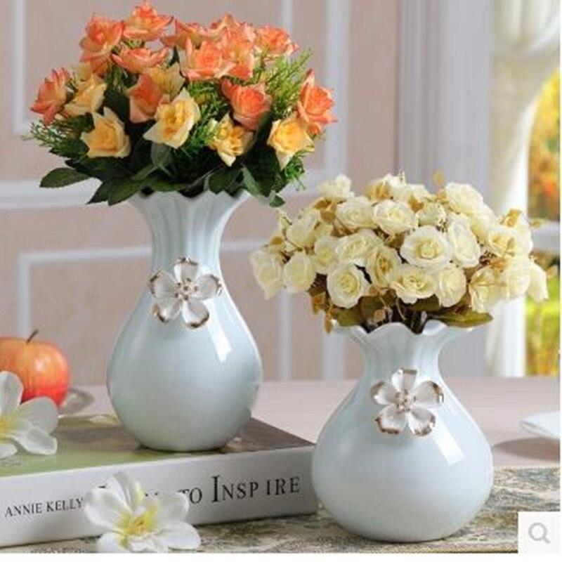 Fresh Mini Ceramic Small Vase Home Decor Gift Ideas And: European Ceramic Small Vase, Flower Arrangement Creative