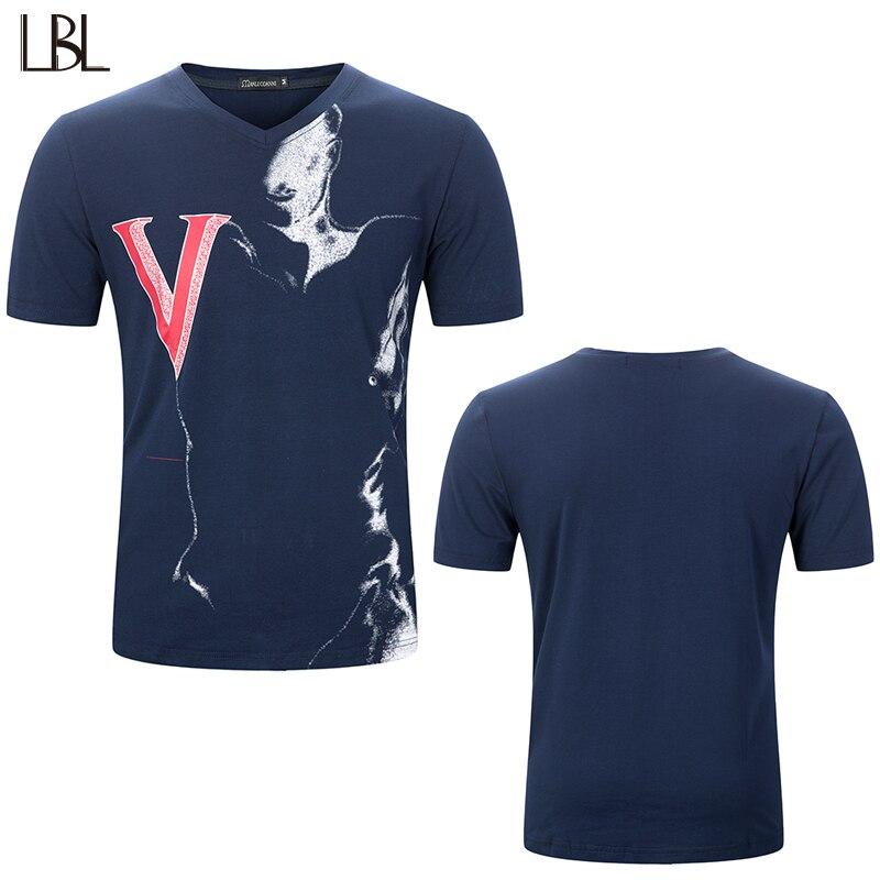 EU Size New Fashion Short Tops T-shirt Men Bodybuilding Short-Sleeve Jogger Mens Sportswear Casual Streetwear TShirts XXXL 2018