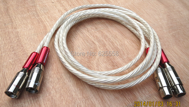 Free shipping Pair  Nordost Odin Supreme Reference Analog Interconnect balance XLR audio cable 1M disney disney минни водная раскраска