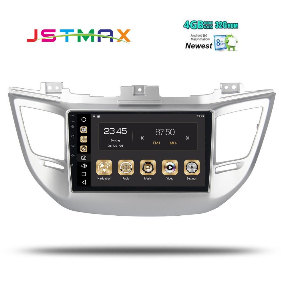2din автомобиля радио для hyundai Tucson IX35 2016 2017 Android 8,0 IX35 Авторадио навигации головное устройство мультимедиа 4 Gb + 32 Gb PX5 8-Core