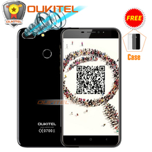 Двойной Камера Oukitel U20 плюс мобильный телефон 5.5 «IPS FHD Android 6.0/7.0 MTK6737T Восьмиядерный отпечатков пальцев ID 13MP 3300 мАч смартфон